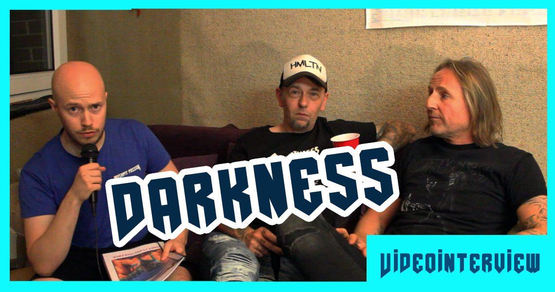 "Darkness – ""First Class Violence"" Pre-Listening"