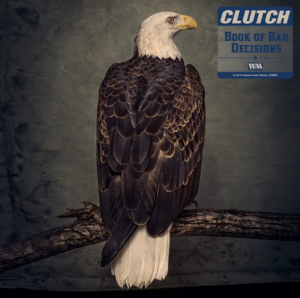 """Clutch – """"The Book of Bad Decisions"""" cover"""