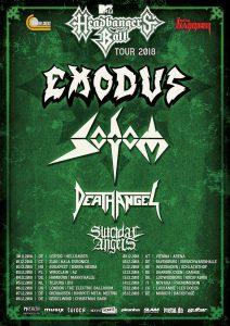 Sodom Tour Poster