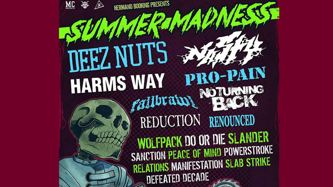 Summer Madness – Hardcore Fest in Krefeld