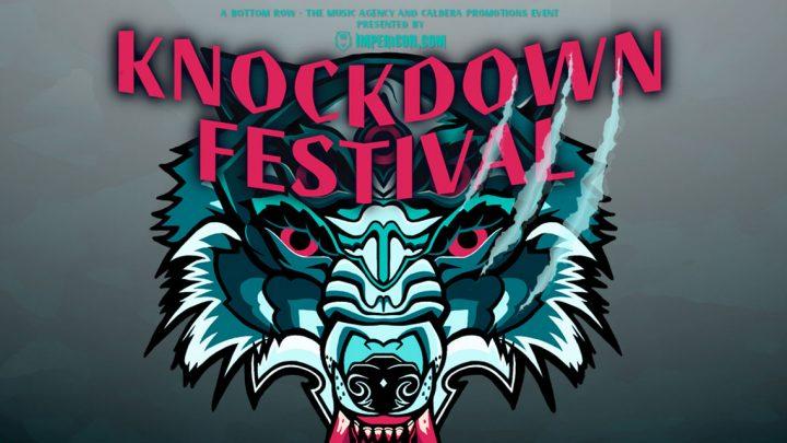 KNOCKDOWN FESTIVAL 2018 – Das Indoor Festival