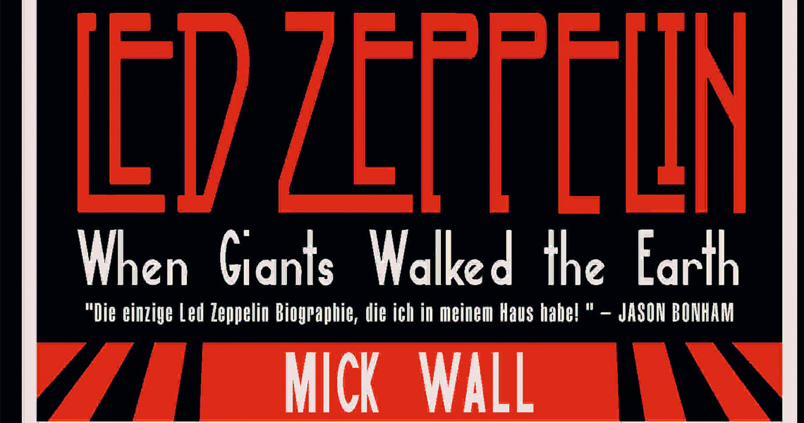 When Giants Walked The Earth – Das Buch