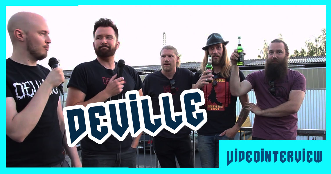 """DEVILLE – """"Pigs with Gods"""""""