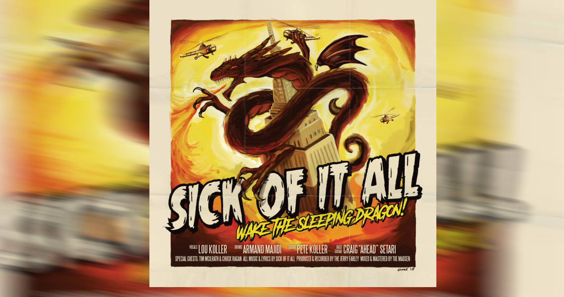 "SICK OF IT ALL – ""Wake The Sleeping Dragon!"" und Tournee"