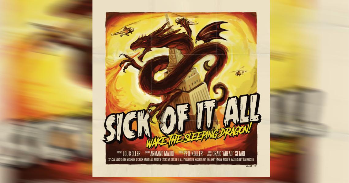 "SICK OF IT ALL – ""Wake The Sleeping Dragon!"" und Tournee"