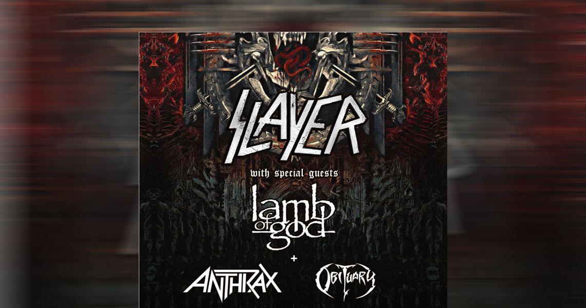 """Slayer – """"Final World Tour"""" Part 2 kommt"""