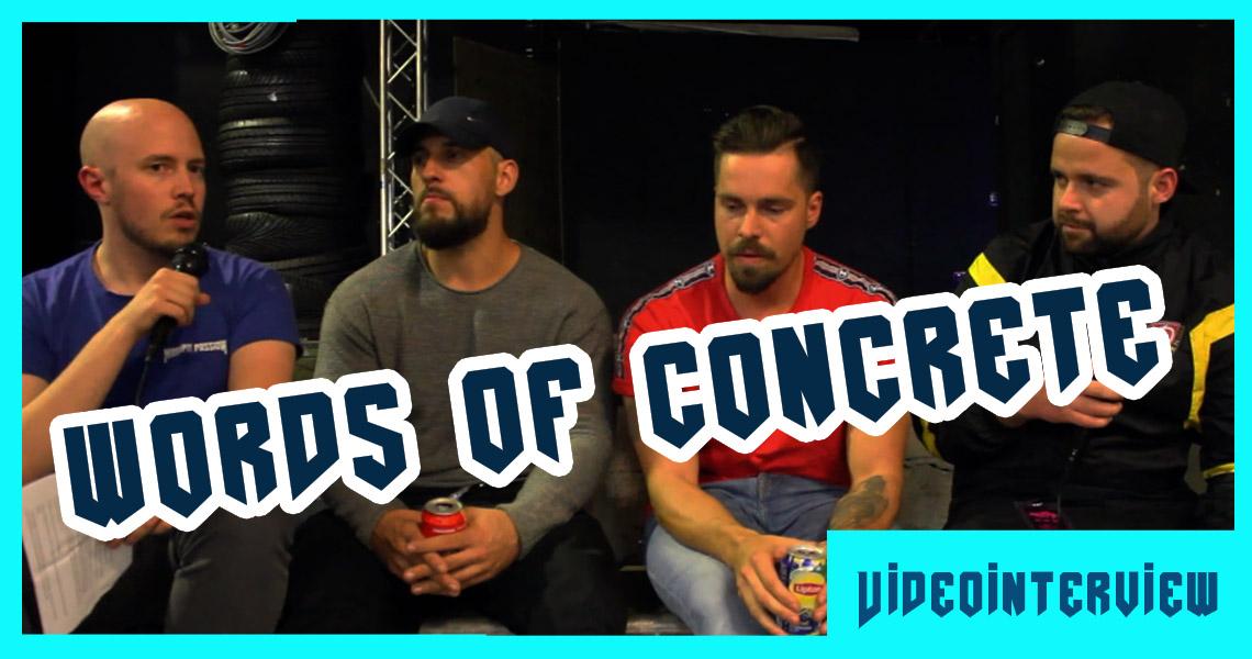 Words of Concrete – Das Interview