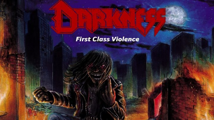 """Darkness' neues Album """"First Class Violence"""" ab sofort erhältlich"""