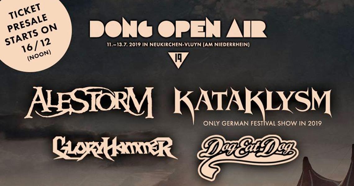 Dong Open Air 2019 erste Bands