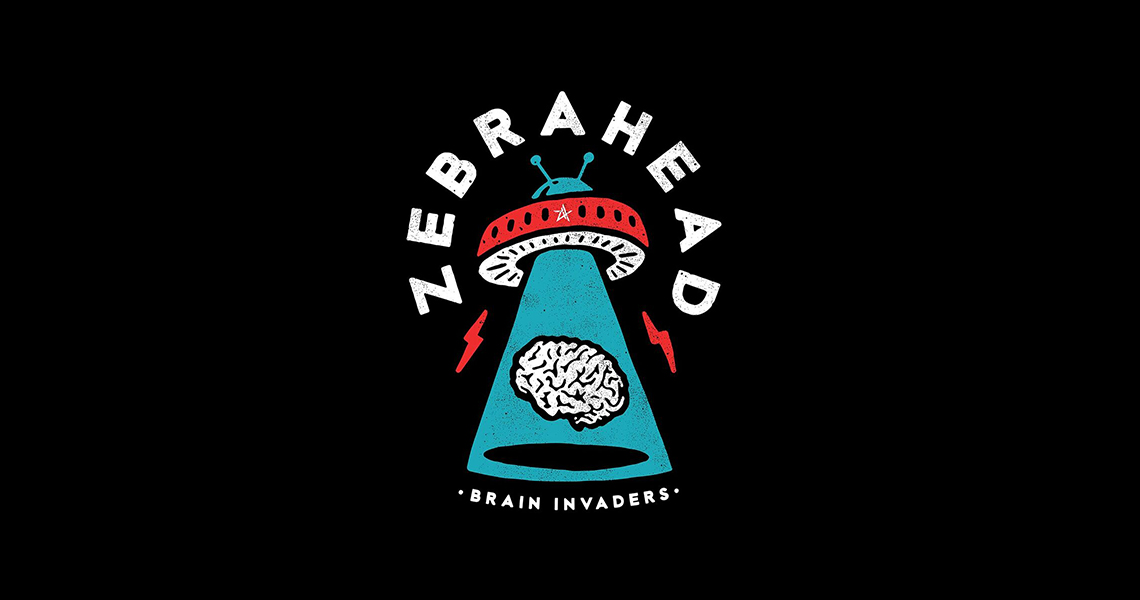 "Zebrahead – ""Brain Invaders"""