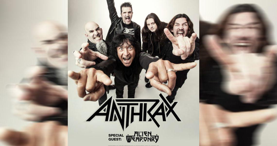 Anthrax – Thrash-Titanen