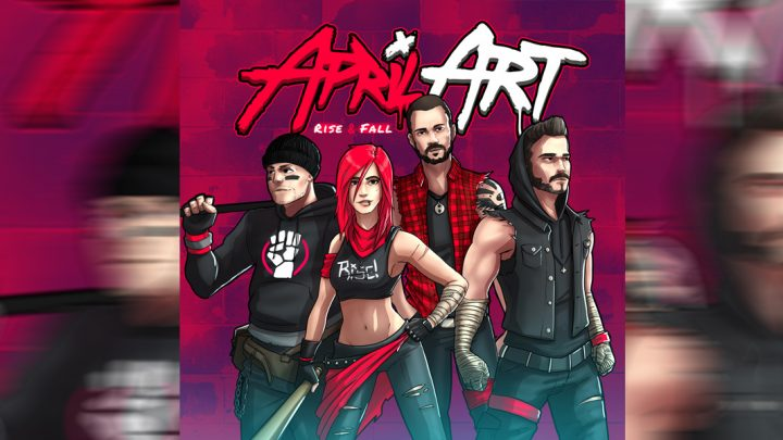 """April Art – """"Rise and Fall"""""""