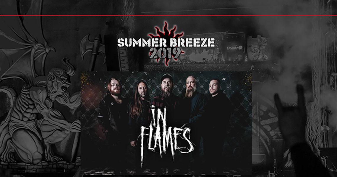 In Flames als Headliner beim Summer Breeze