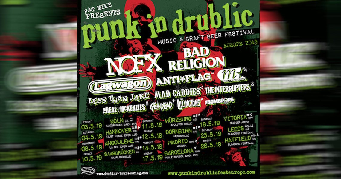 Punk In Drublic-Festivaltour 2019