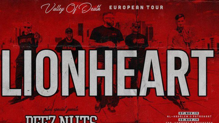 Lionheart kündigen Europa-Tournee an