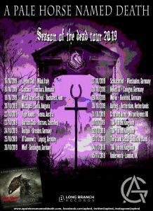 "A Pale Horse Named Death auf ""Season Of The Dead"" Tour"