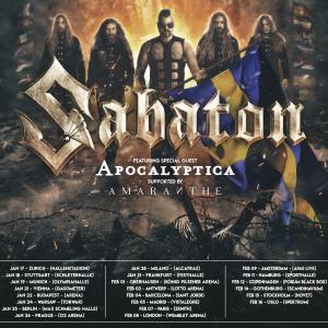 Sabaton – Europatour 2020 Tourdaten