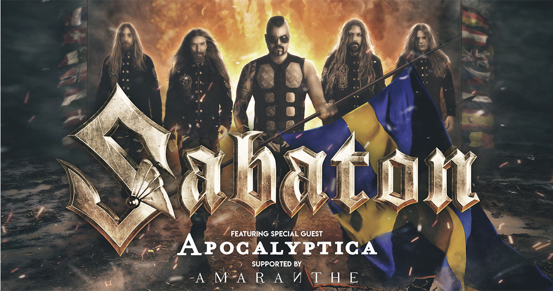 "Sabaton – Europatour und neues Video zu ""Great War"""