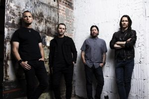 Von links nach rechts Mark Tremonti, Brian Marshall, Scott Phillips, Myles Kennedy