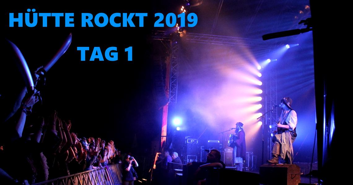Hütte Rockt Festival 2019 – Tag 1: Osnabrück rockt!