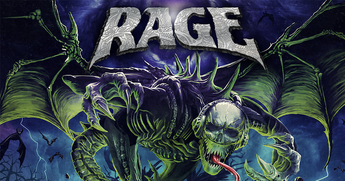 "Rage - ""Wings of Rage"" (VÖ: 10.01.2020) - Moshpit Passion"