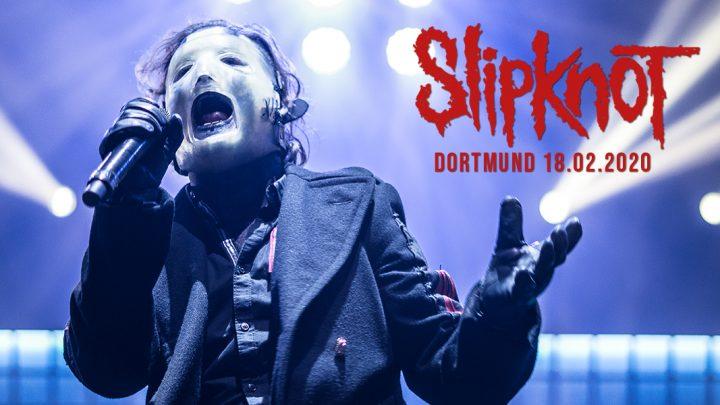 Slipknot-Konzert-Dortmund-Westfalenhalle